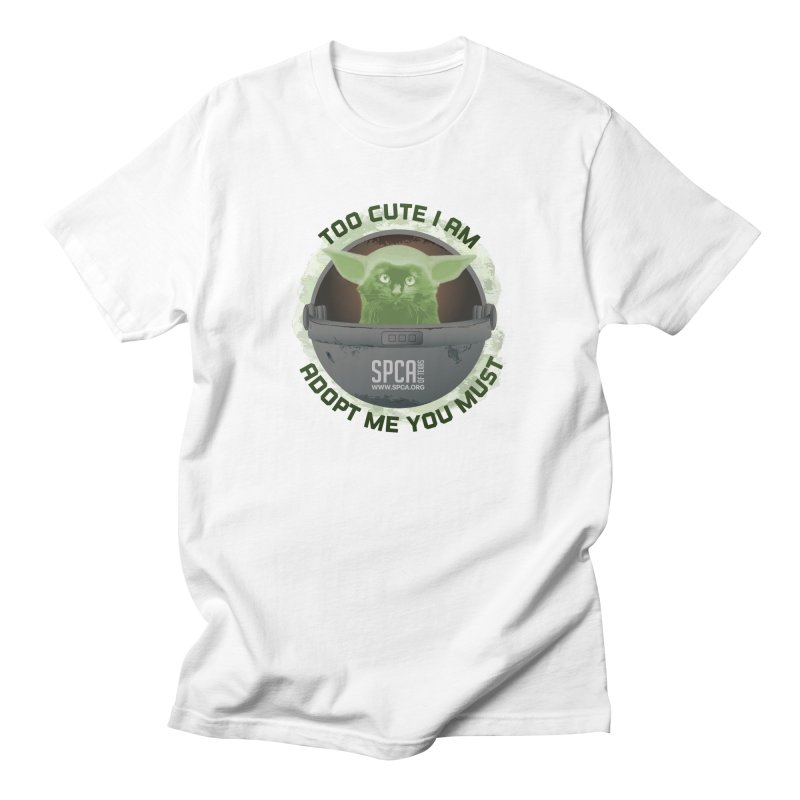 LIMITED EDITION - Baby Yoda Men's T-Shirt by SPCA of Texas' Artist Shop