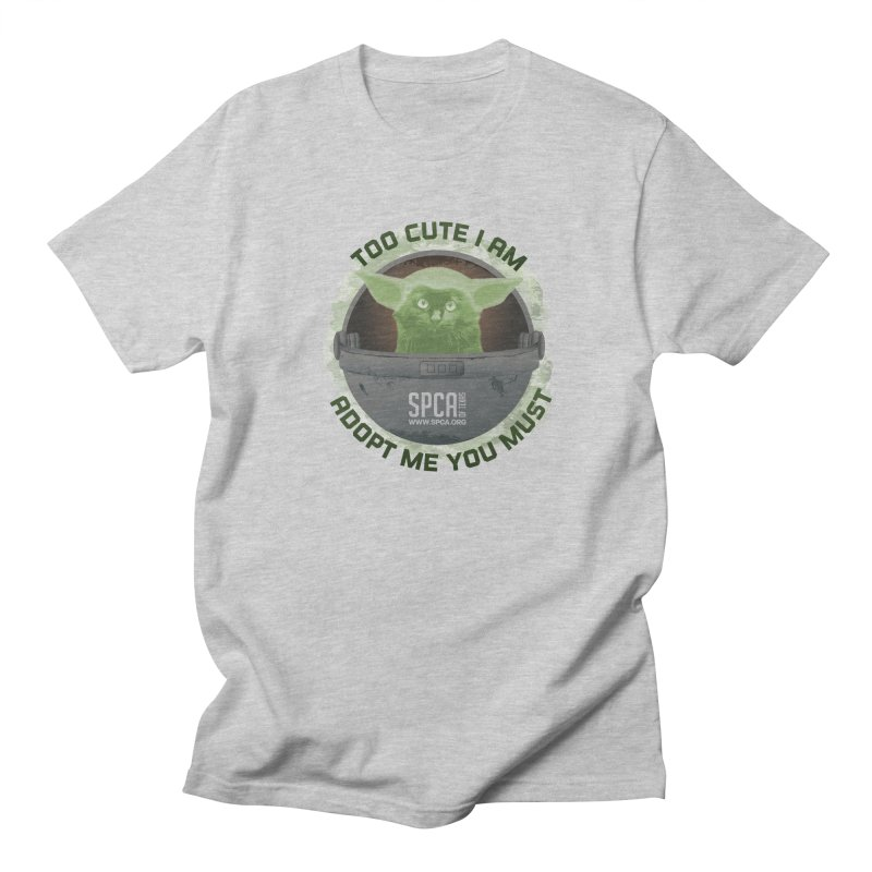 LIMITED EDITION - Baby Yoda Women's Regular Unisex T-Shirt by SPCA of Texas' Artist Shop