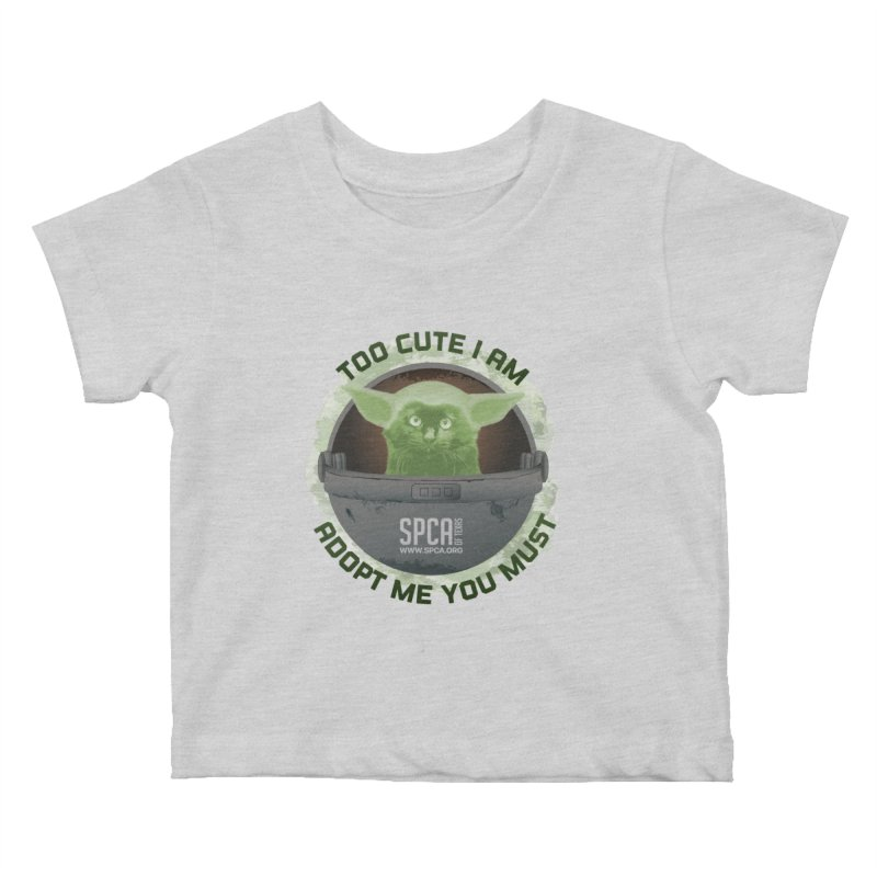 LIMITED EDITION - Baby Yoda Kids Baby T-Shirt by SPCA of Texas' Artist Shop
