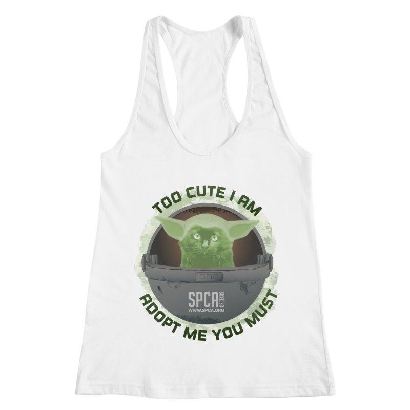 LIMITED EDITION - Baby Yoda Women's Racerback Tank by SPCA of Texas' Artist Shop
