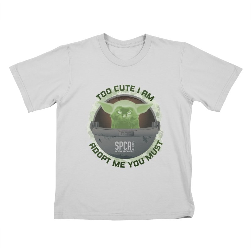 LIMITED EDITION - Baby Yoda Kids T-Shirt by SPCA of Texas' Artist Shop