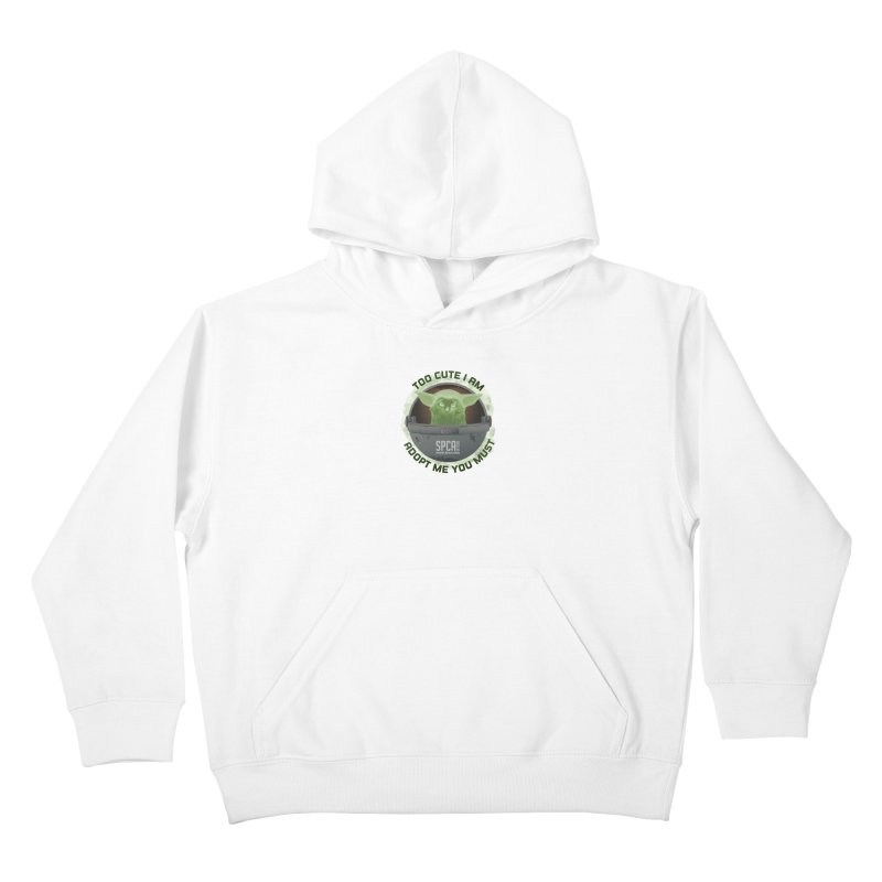LIMITED EDITION - Baby Yoda Kids Pullover Hoody by SPCA of Texas' Artist Shop