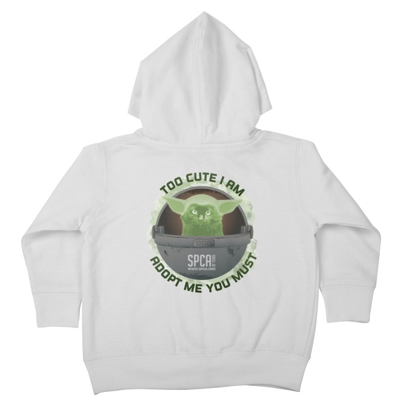 LIMITED EDITION - Baby Yoda Kids Toddler Zip-Up Hoody by SPCA of Texas' Artist Shop