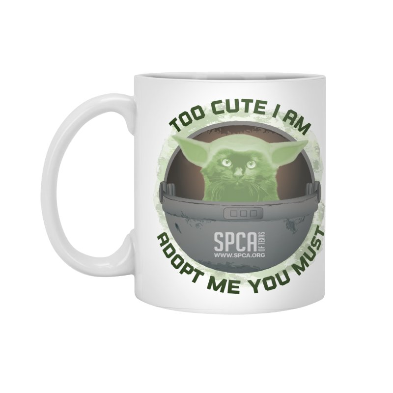 LIMITED EDITION - Baby Yoda Accessories Standard Mug by SPCA of Texas' Artist Shop