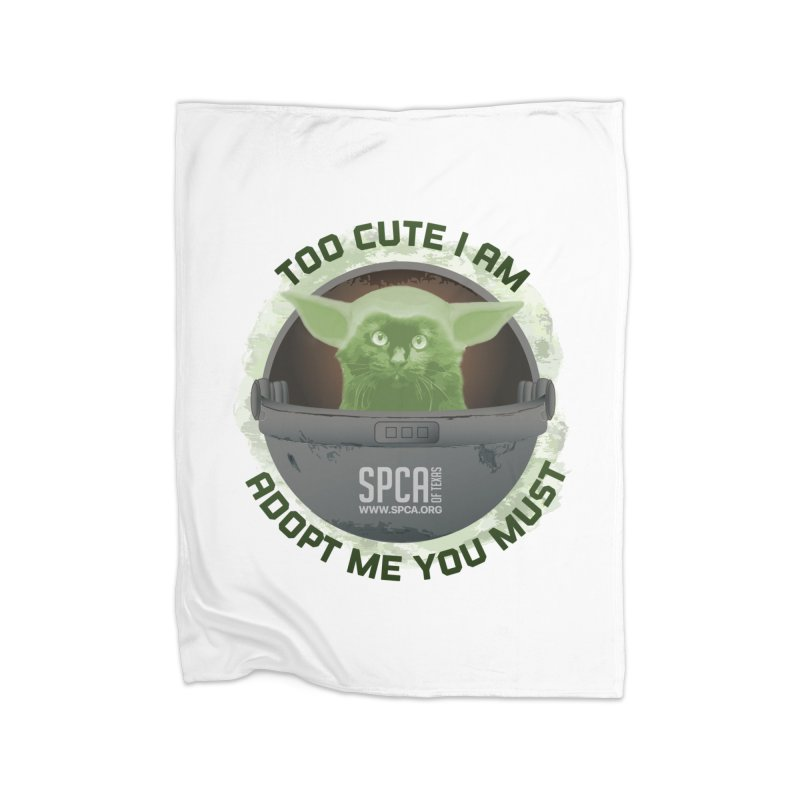 LIMITED EDITION - Baby Yoda Home Blanket by SPCA of Texas' Artist Shop