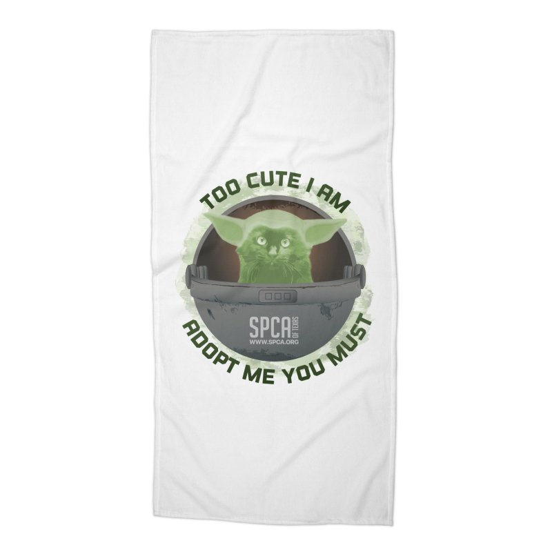 LIMITED EDITION - Baby Yoda Accessories Beach Towel by SPCA of Texas' Artist Shop