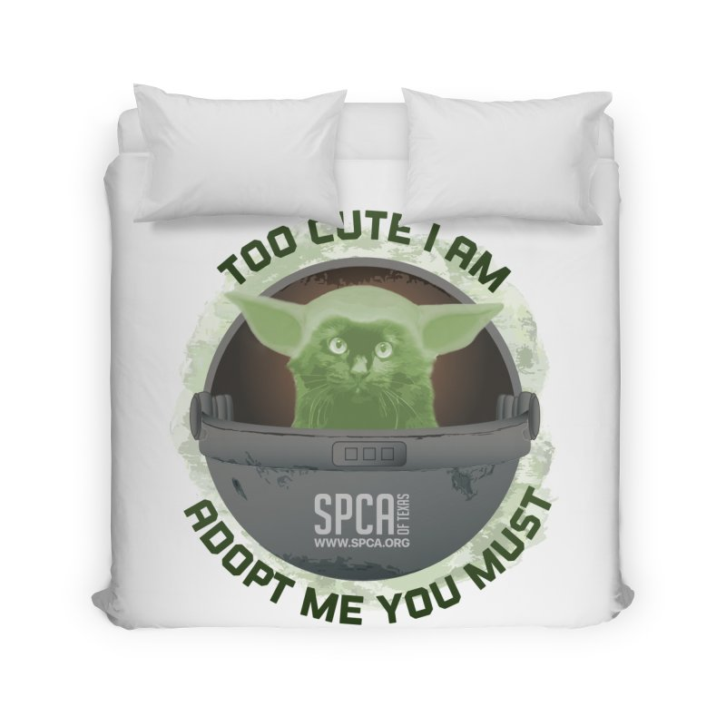 LIMITED EDITION - Baby Yoda Home Duvet by SPCA of Texas' Artist Shop