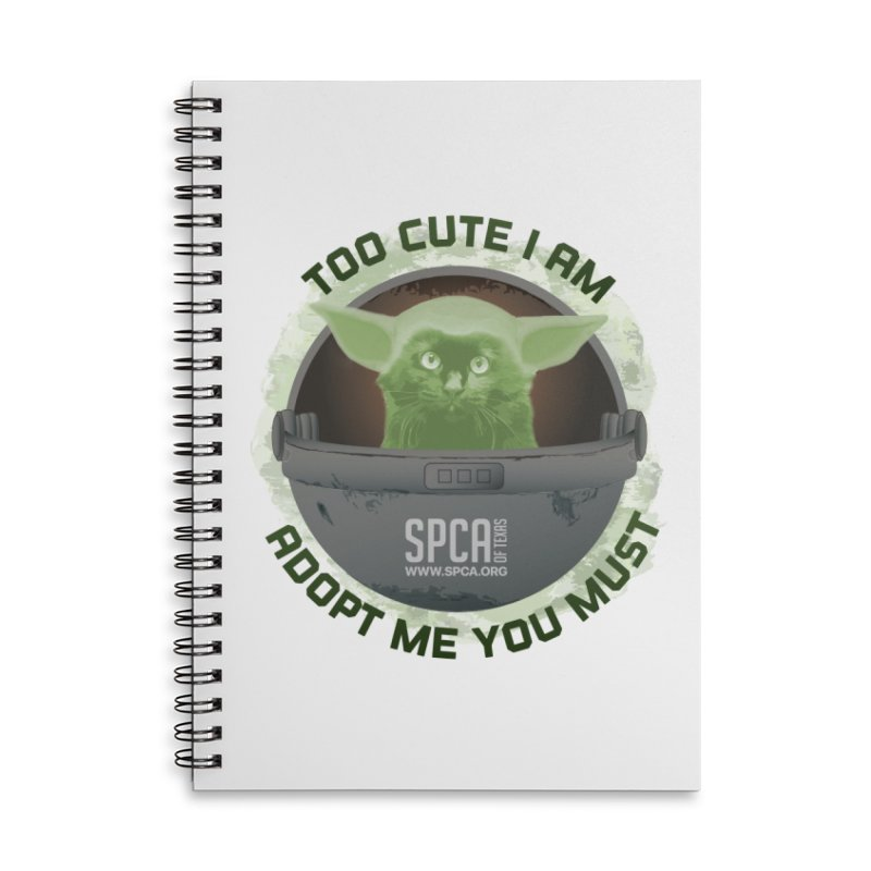 LIMITED EDITION - Baby Yoda Accessories Notebook by SPCA of Texas' Artist Shop