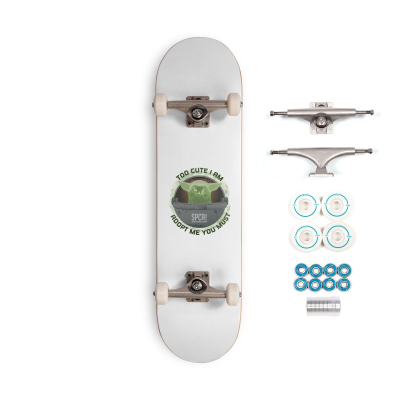 LIMITED EDITION - Baby Yoda Accessories Complete - Basic Skateboard by SPCA of Texas' Artist Shop
