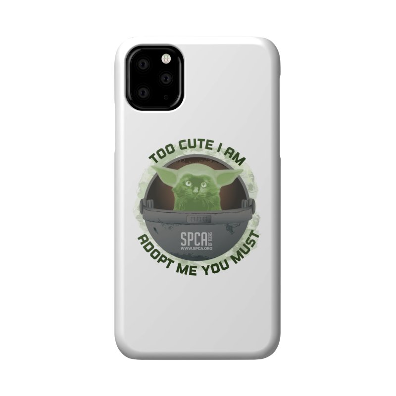 LIMITED EDITION - Baby Yoda Accessories Phone Case by SPCA of Texas' Artist Shop