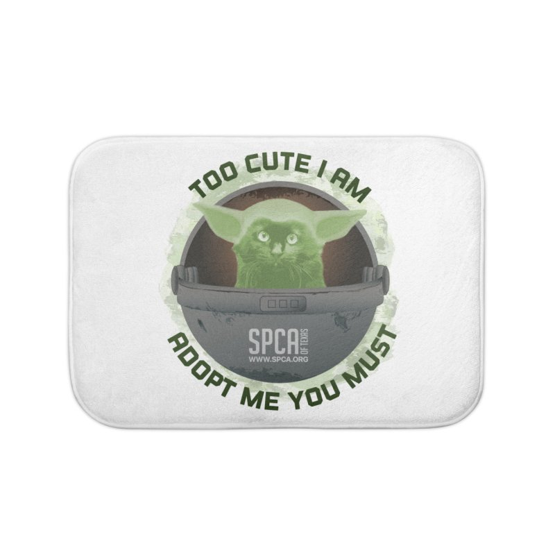 LIMITED EDITION - Baby Yoda Home Bath Mat by SPCA of Texas' Artist Shop