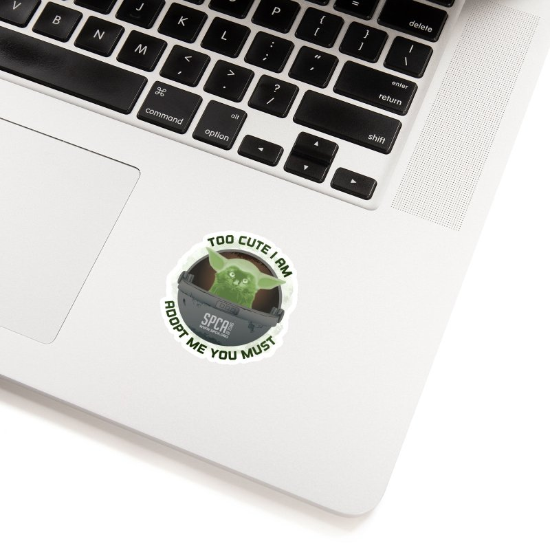 LIMITED EDITION - Baby Yoda Accessories Sticker by SPCA of Texas' Artist Shop