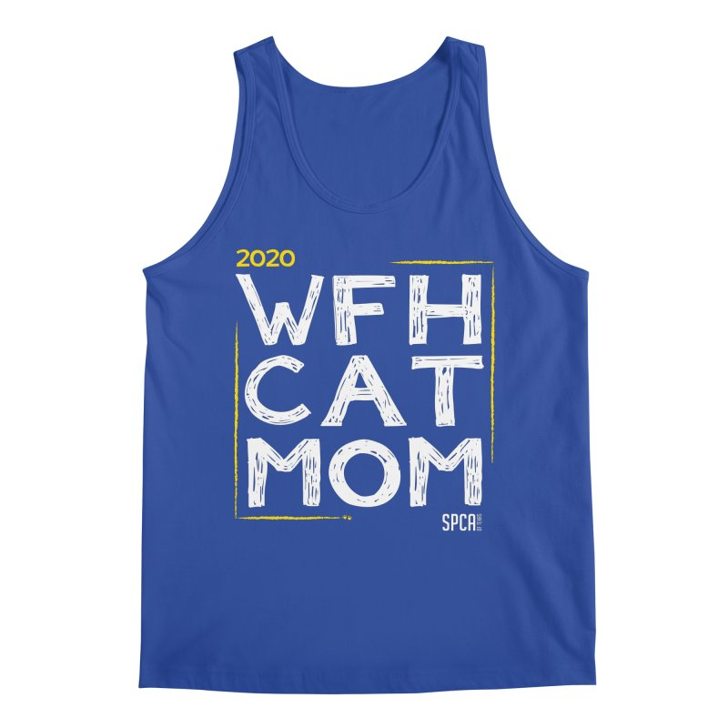 Work From Home Cat Mom 2020 - Limited Edition Men's Regular Tank by SPCA of Texas' Artist Shop