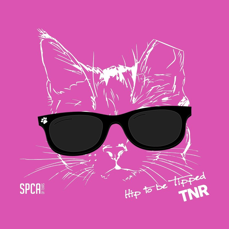 Hip to be Tipped - TNR Women's V-Neck by SPCA of Texas' Artist Shop