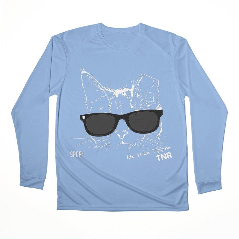 Hip to be Tipped - TNR Men's Performance Longsleeve T-Shirt by SPCA of Texas' Artist Shop