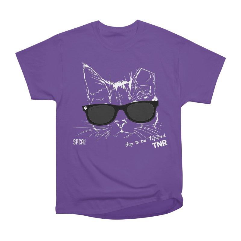 Hip to be Tipped - TNR Men's Heavyweight T-Shirt by SPCA of Texas' Artist Shop