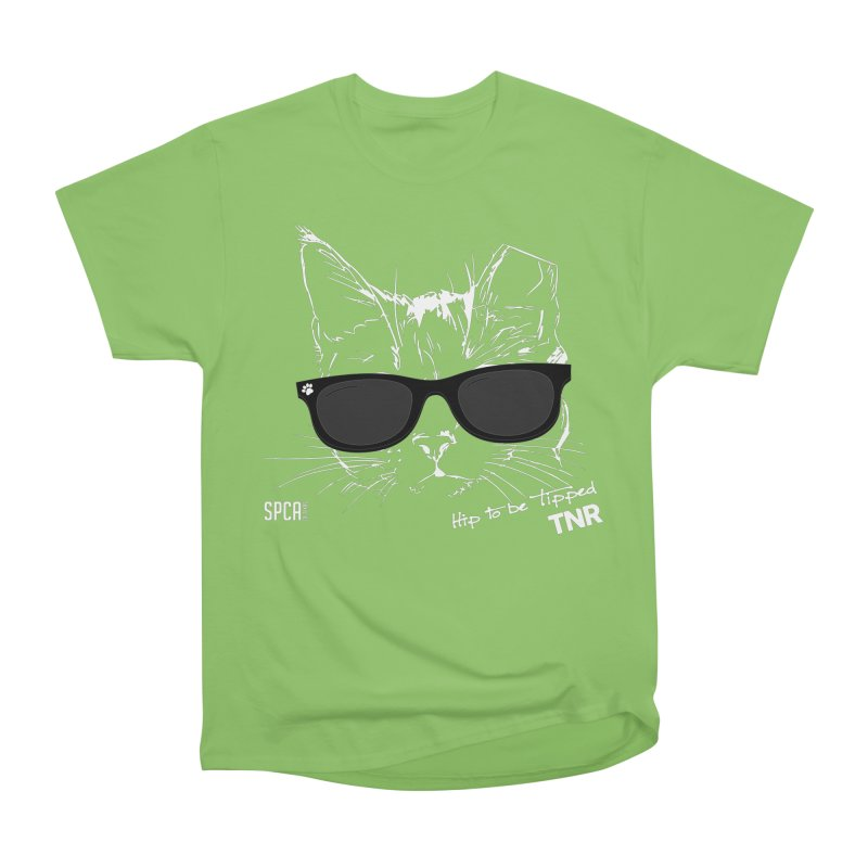 Hip to be Tipped - TNR Men's Heavyweight T-Shirt by SPCA of Texas' Artist Shop