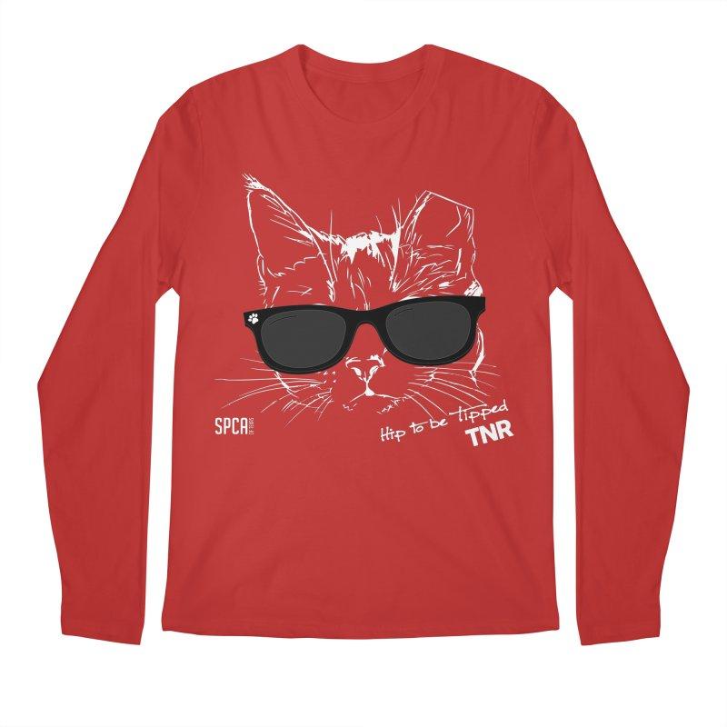 Hip to be Tipped - TNR Men's Regular Longsleeve T-Shirt by SPCA of Texas' Artist Shop