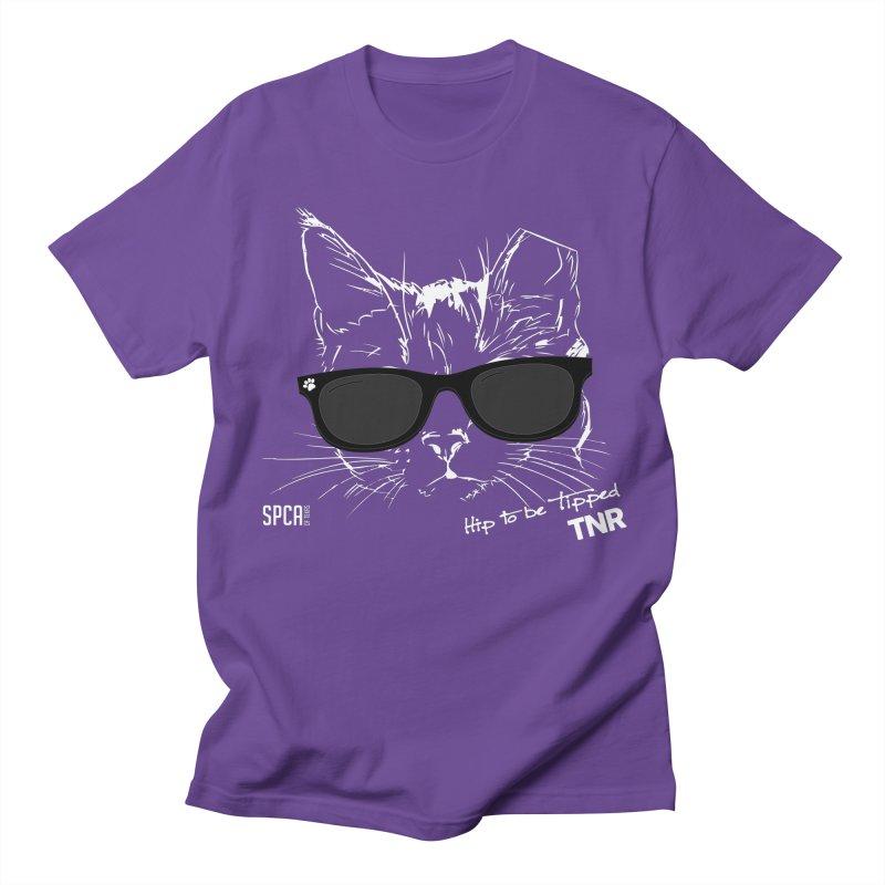 Hip to be Tipped - TNR Men's Regular T-Shirt by SPCA of Texas' Artist Shop