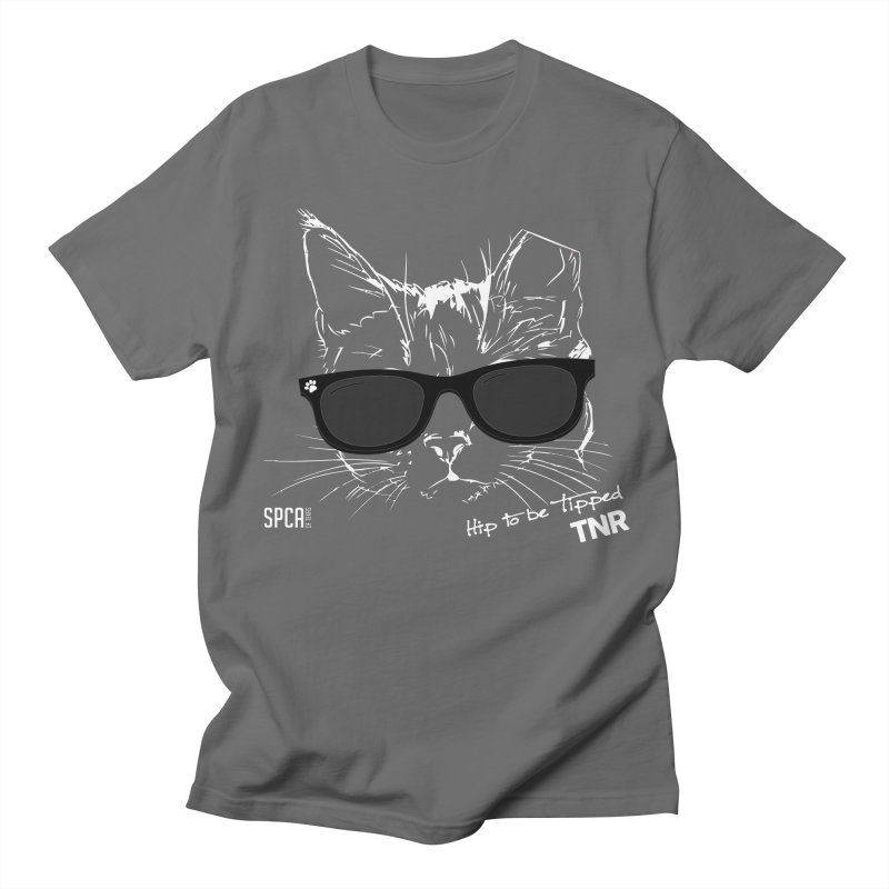 Hip to be Tipped - TNR Men's T-Shirt by SPCA of Texas' Artist Shop