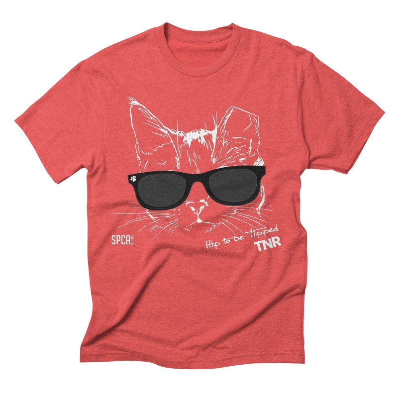 Hip to be Tipped - TNR Men's Triblend T-Shirt by SPCA of Texas' Artist Shop