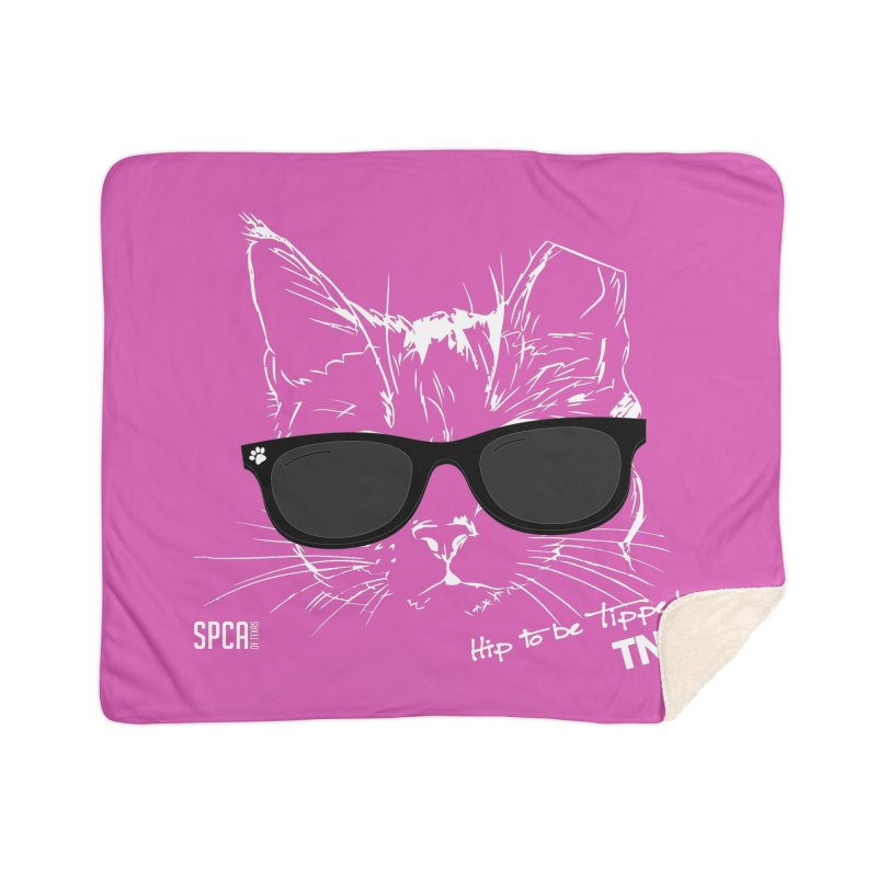 Hip to be Tipped - TNR Home Blanket by SPCA of Texas' Artist Shop