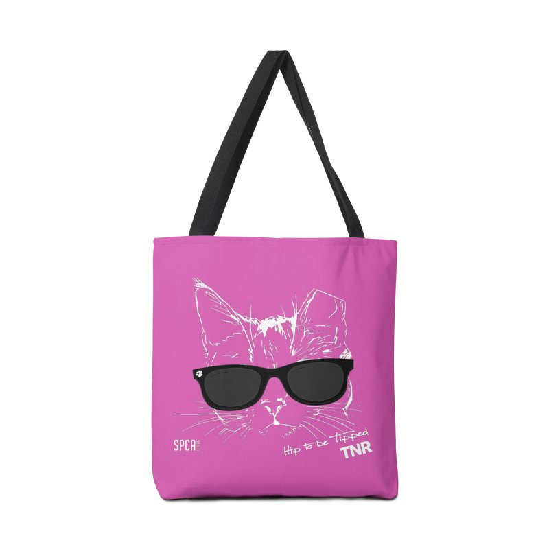 Hip to be Tipped - TNR Accessories Tote Bag Bag by SPCA of Texas' Artist Shop