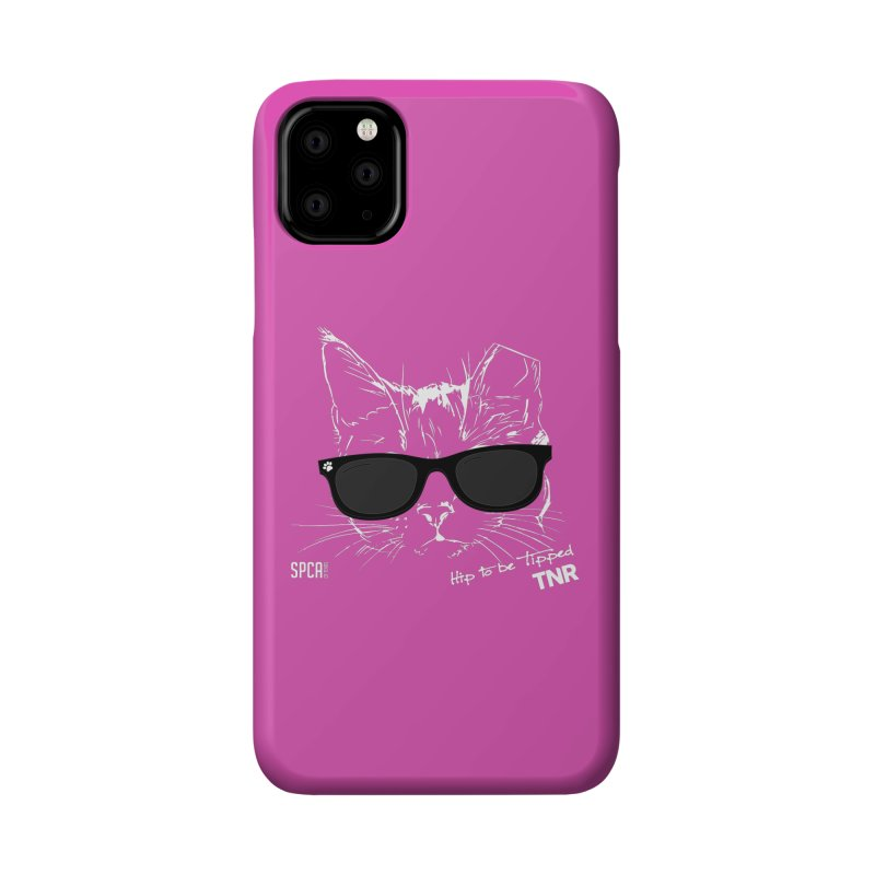 Hip to be Tipped - TNR Accessories Phone Case by SPCA of Texas' Artist Shop