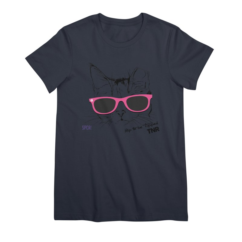Hip to Be Tipped - TNR Women's T-Shirt by SPCA of Texas' Artist Shop