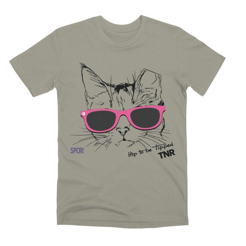 Hip to Be Tipped - TNR Men's Premium T-Shirt by SPCA of Texas' Artist Shop