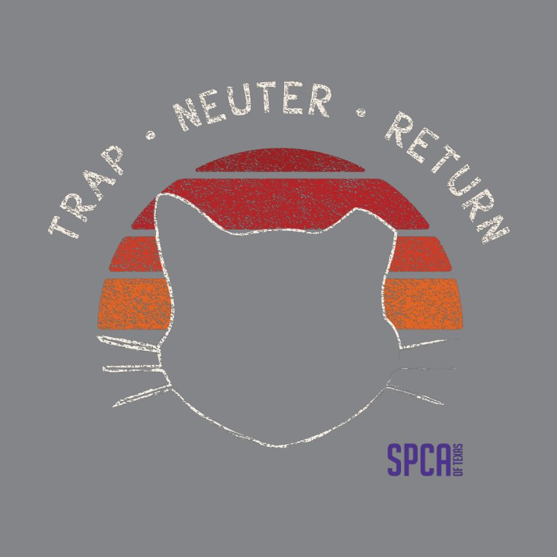 TRAP NEUTER RETURN Men's T-Shirt by SPCA of Texas' Artist Shop