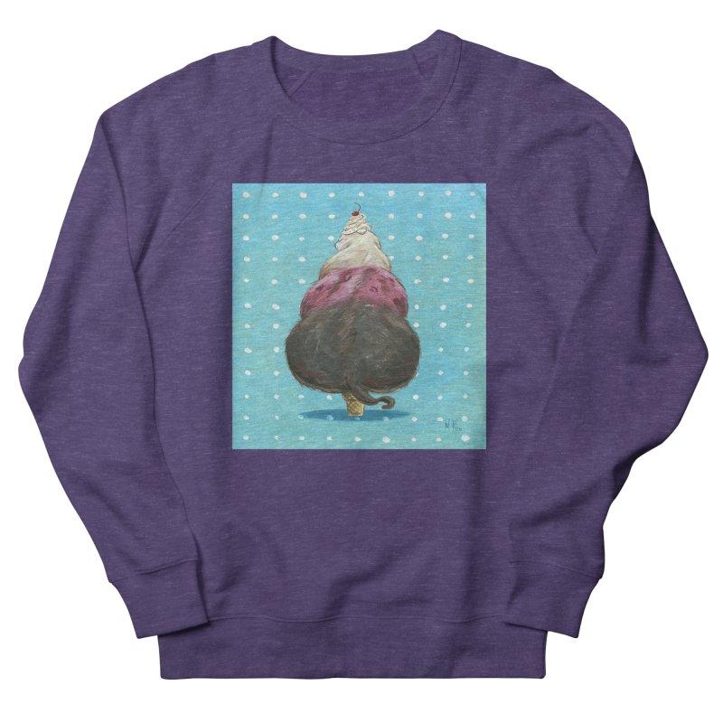 Ice Cream Cat Men's Sweatshirt by SQETCHBOOK