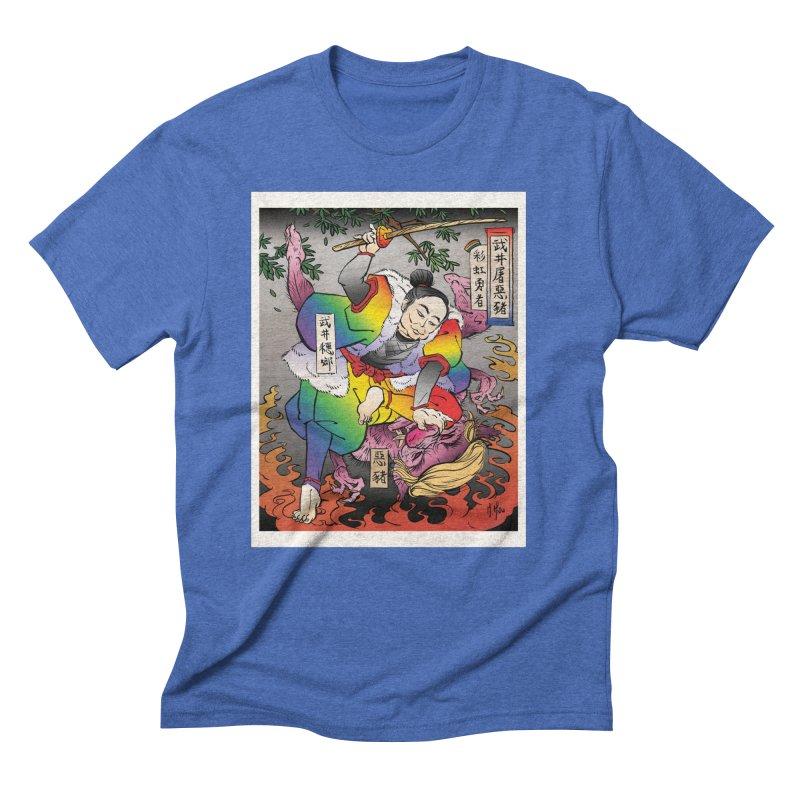 Takei Slays Demon Pig Men's T-Shirt by SQETCHBOOK