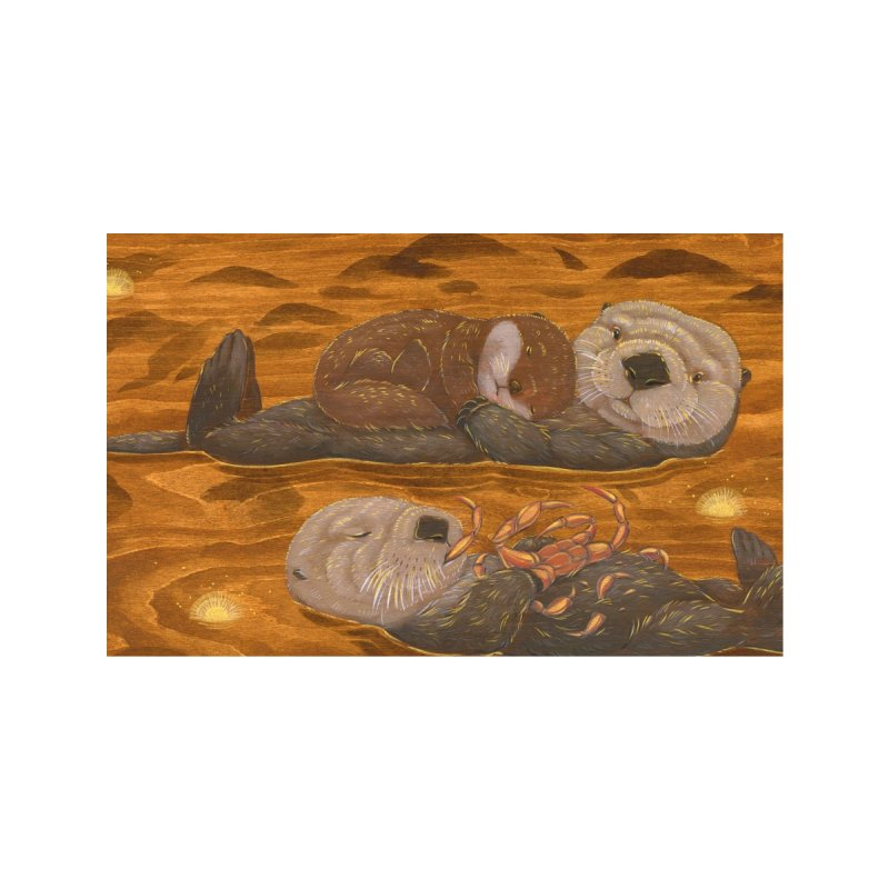 Sea Otters Face Mask Accessories Face Mask by SQETCHBOOK