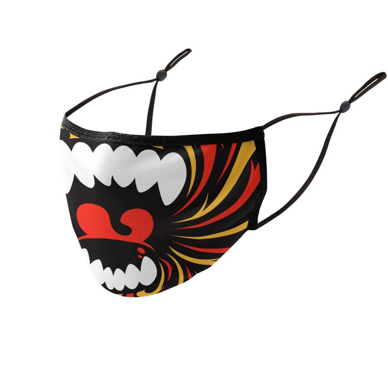 Monkey Scream Face Mask Accessories Face Mask by SQETCHBOOK