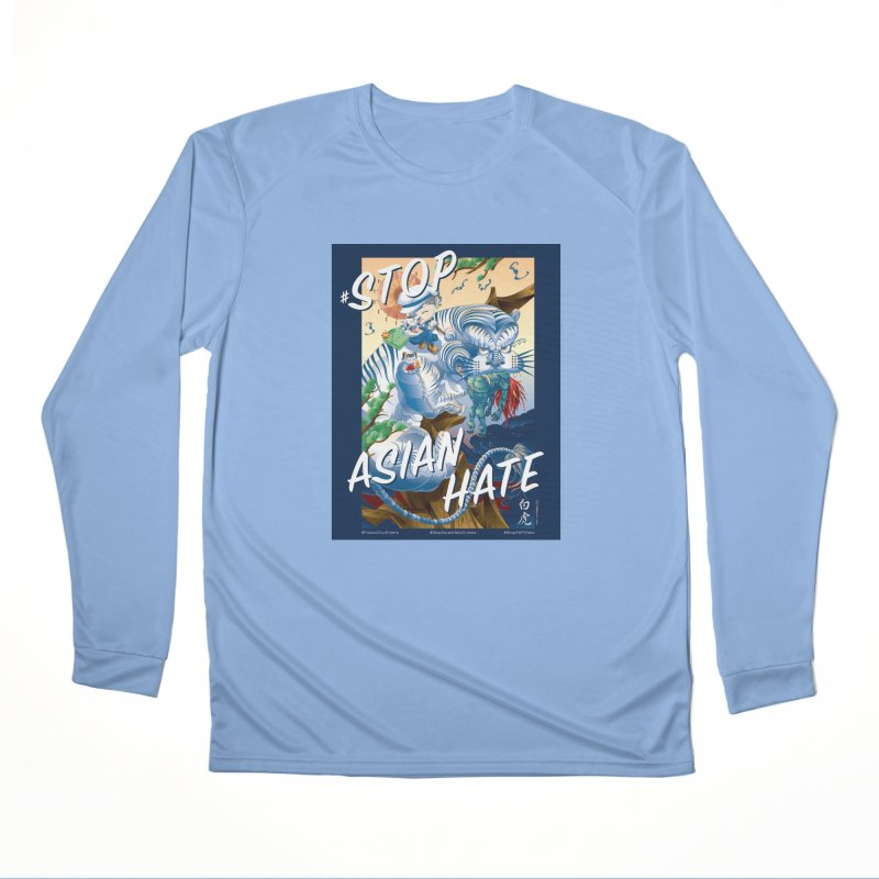 Stop Asian Hate- Tiger T-shirt Women's Longsleeve T-Shirt by SQETCHBOOK