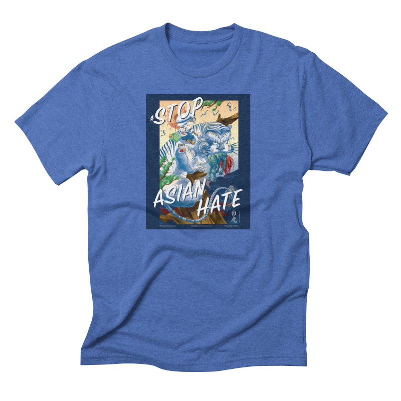 Stop Asian Hate- Tiger T-shirt Men's T-Shirt by SQETCHBOOK