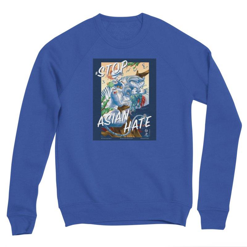 Stop Asian Hate- Tiger T-shirt Men's Sweatshirt by SQETCHBOOK