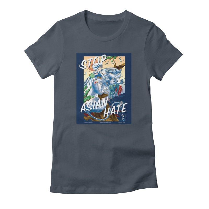 Stop Asian Hate- Tiger T-shirt Women's T-Shirt by SQETCHBOOK