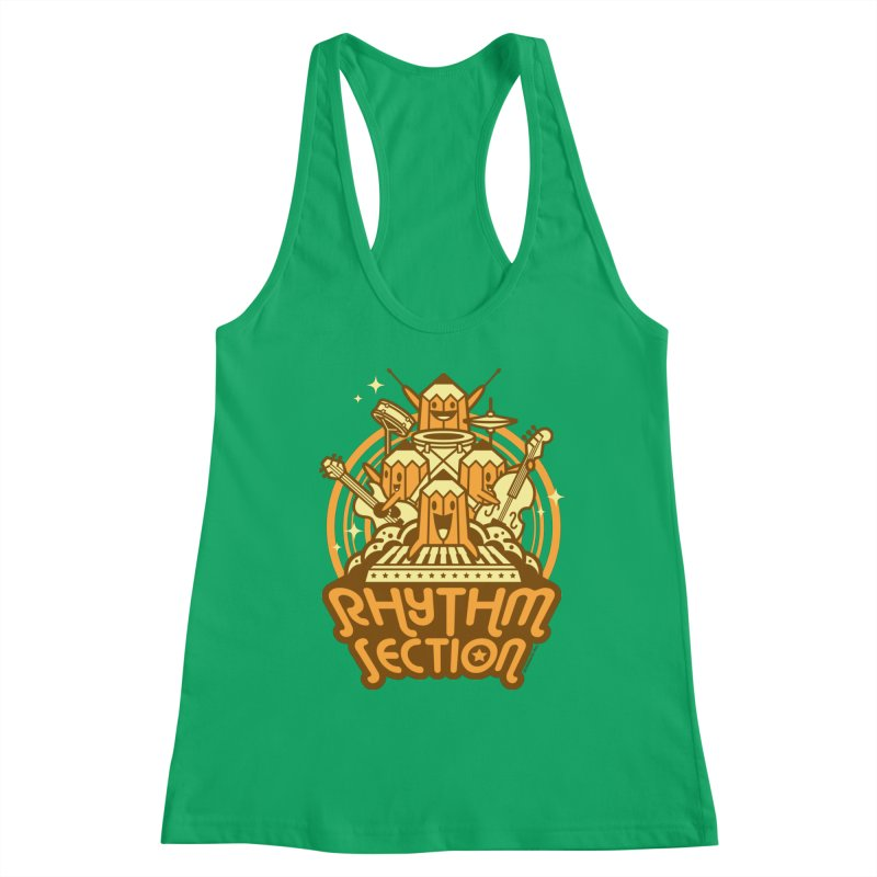 Rhythm Section Women's Tank by SQETCHBOOK