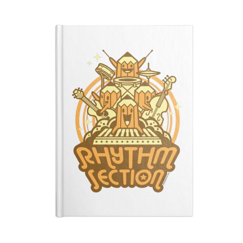 Rhythm Section Accessories Notebook by SQETCHBOOK
