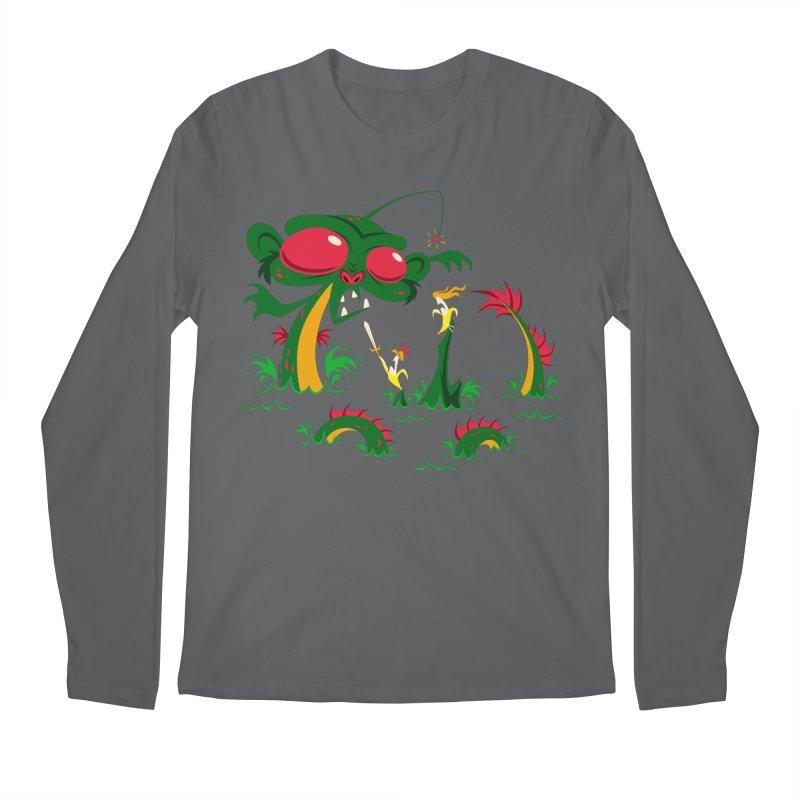Sea Monkey Men's Longsleeve T-Shirt by SQETCHBOOK