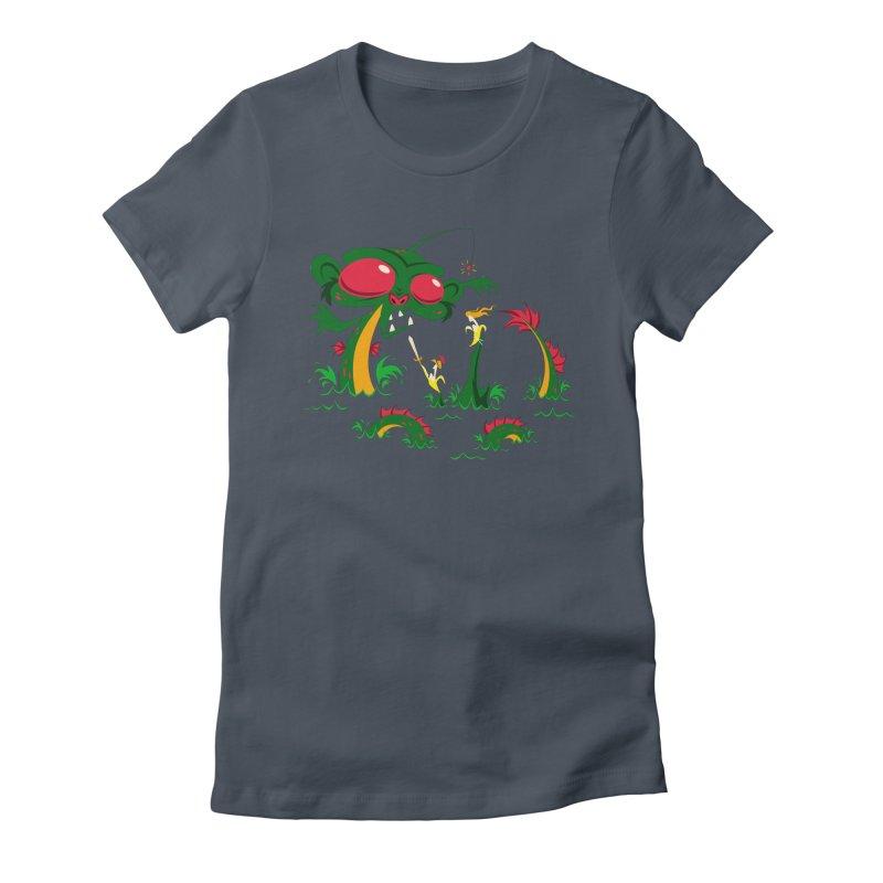 Sea Monkey Women's T-Shirt by SQETCHBOOK