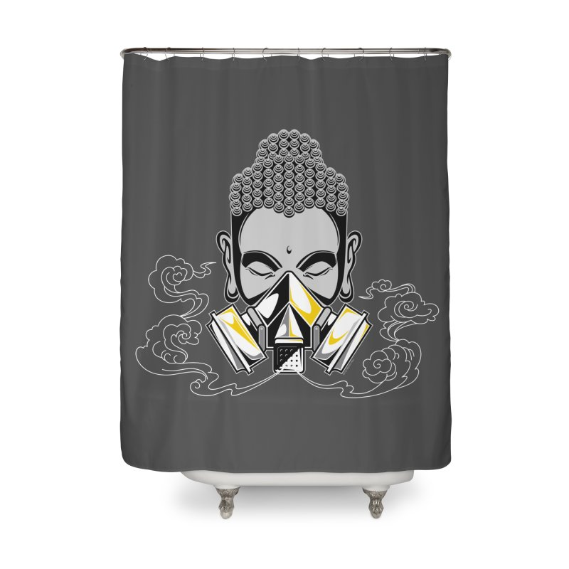 Urban Cleansing Home Shower Curtain by SQETCHBOOK