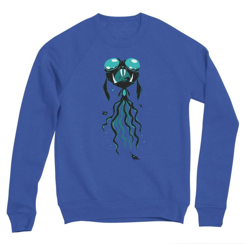 Octobunny Jaws Men's Sweatshirt by SQETCHBOOK