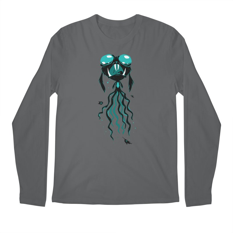 Octobunny Jaws Men's Longsleeve T-Shirt by SQETCHBOOK