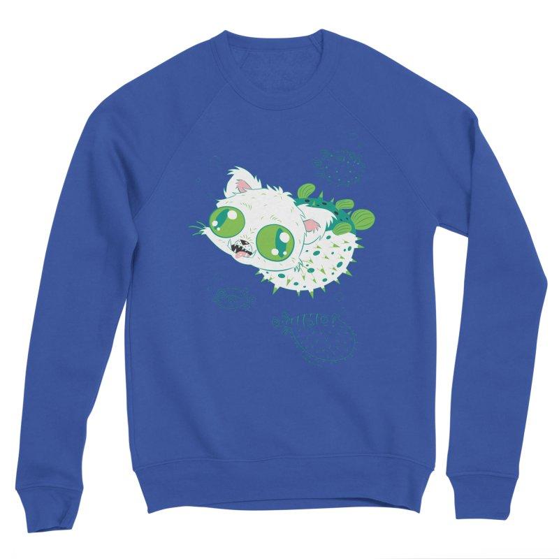 Puffer Cat Men's Sweatshirt by SQETCHBOOK