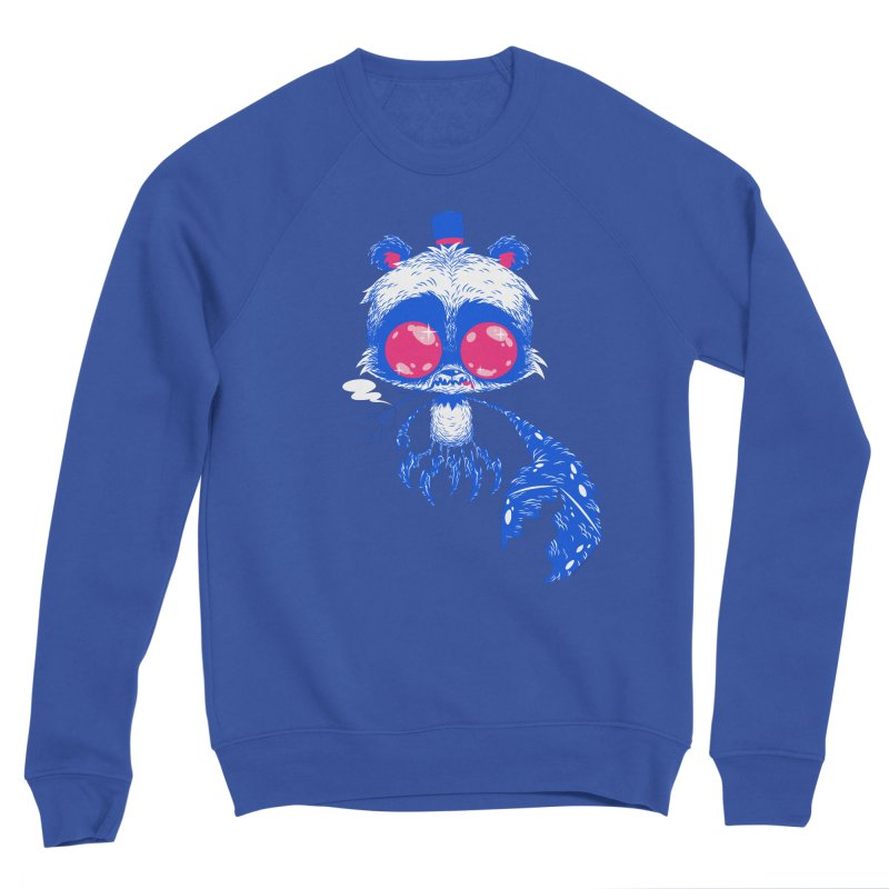 Crabby Smokey Bear Men's Sweatshirt by SQETCHBOOK