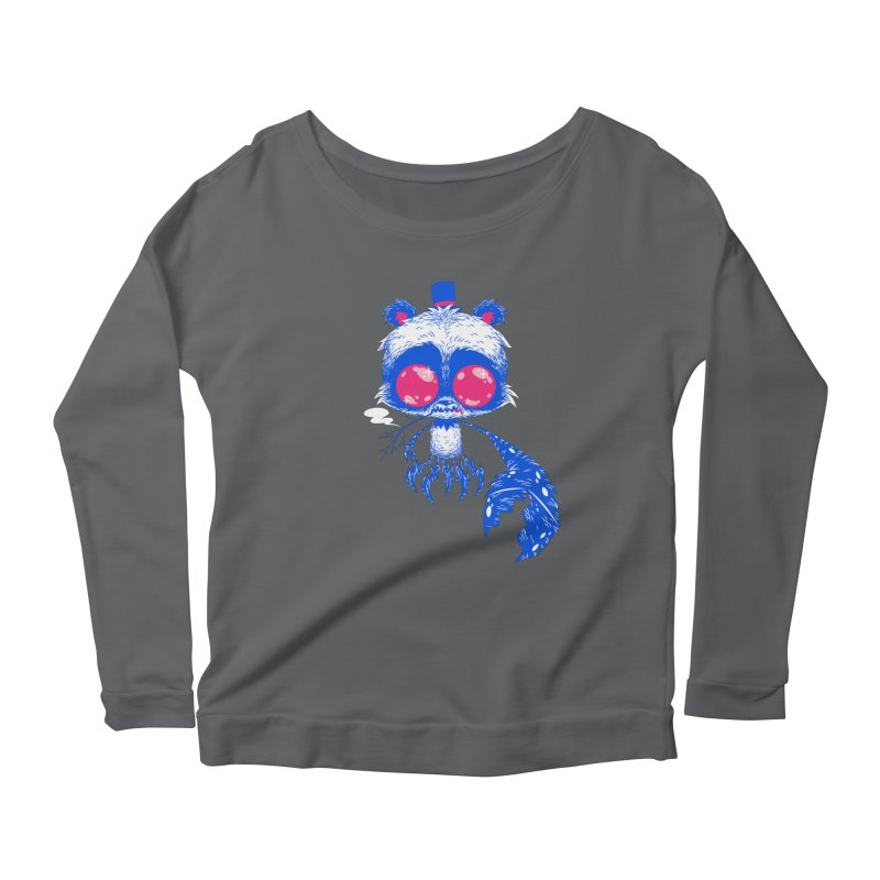 Crabby Smokey Bear Women's Longsleeve T-Shirt by SQETCHBOOK