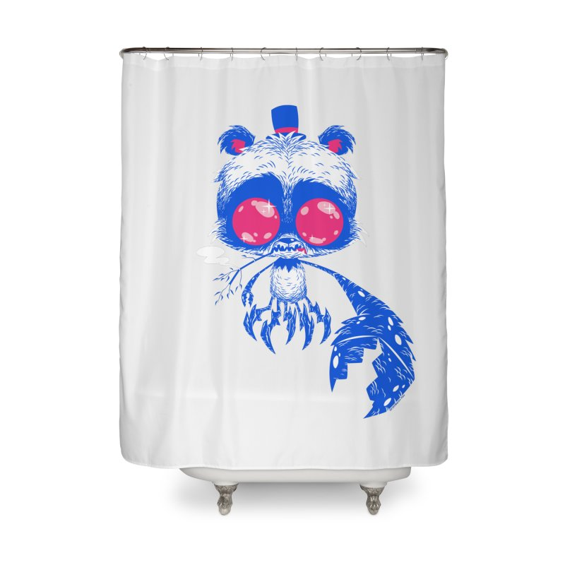 Crabby Smokey Bear Home Shower Curtain by SQETCHBOOK